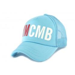 Casquette Trucker YMCMB Bleu