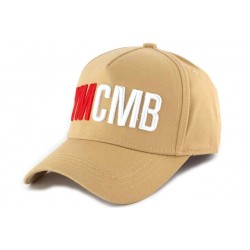 Casquette Baseball YMCMB Marron Sable