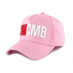 Casquette Baseball YMCMB Rose