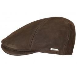 Casquette Herman Headwear Bec de Cane Marron
