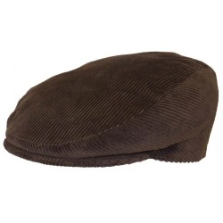 Casquette Herman Headwear Velours Marron
