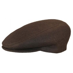 Casquette Herman Headwear Laine Marron