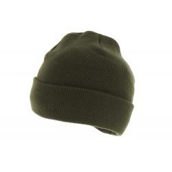 Bonnet Tricot Herman Headwear Kaki