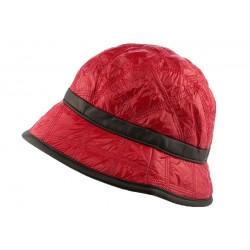 Chapeau Pluie Nyls Création Eleo Rouge