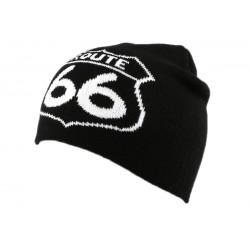 Bonnet Biker Route 66 Noir