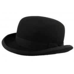 Chapeau Melon Fashion Bowler Christys Feutre noir