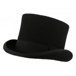 Chapeau Haut de Forme Christys' London Noir