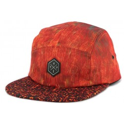 Casquette 5 panel Hype RED FEATHERS Rouge