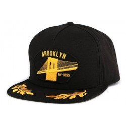 Snapback Goorin Bros Brooklyn Steel Noire