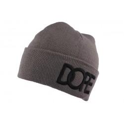 Bonnet Gris Foncé DOPE JBB Couture