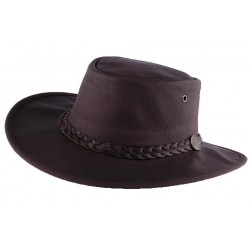 Chapeau Cuir Marron Sundowner Barmah Hats