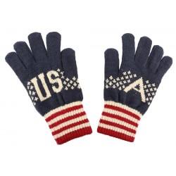 Gants mixte modèle USA Bleu, Blanc et Rouge