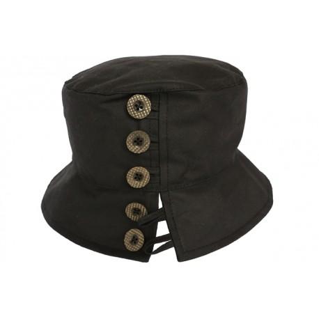Chapeau pluie Lynda noir
