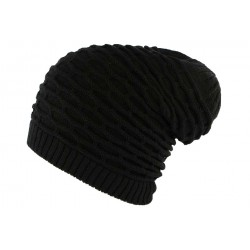 Bonnet Rasta Noir Steven Nyls Creation