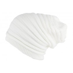 Bonnet Rasta Long Blanc Jack Nyls Création