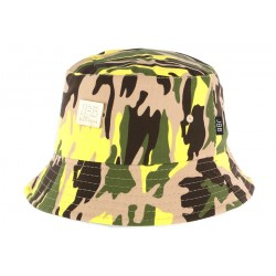Bob Chapeau Camouflage Army Fashion JBB Couture