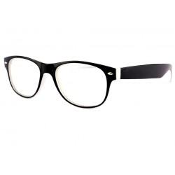 Lunettes Loupe Mode Noire bicolore Shape +3,5 Dioptries