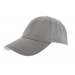 Casquette microfibre unie Grise Herman Headwear