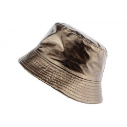 Chapeau de Pluie Marron Maud Nyls Creation