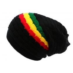 Bonnet Rasta Noir Rouge jaune et Vert Keep
