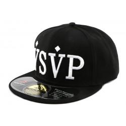 Snapback Noir VSVP par hip hop of honour