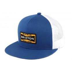Casquette Bleu Brixton Fuel Mesh Cap