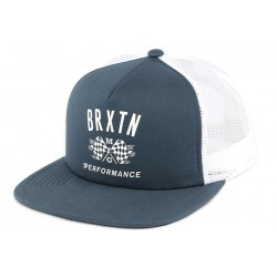 Casquette bleu filet snapback Brixton Piston
