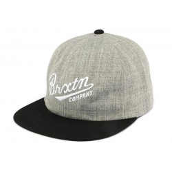 Casquette Snapback Grise et Noire FENWAY