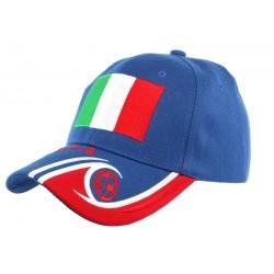 Casquette Enfant Italie Football de 6 à 11 ans