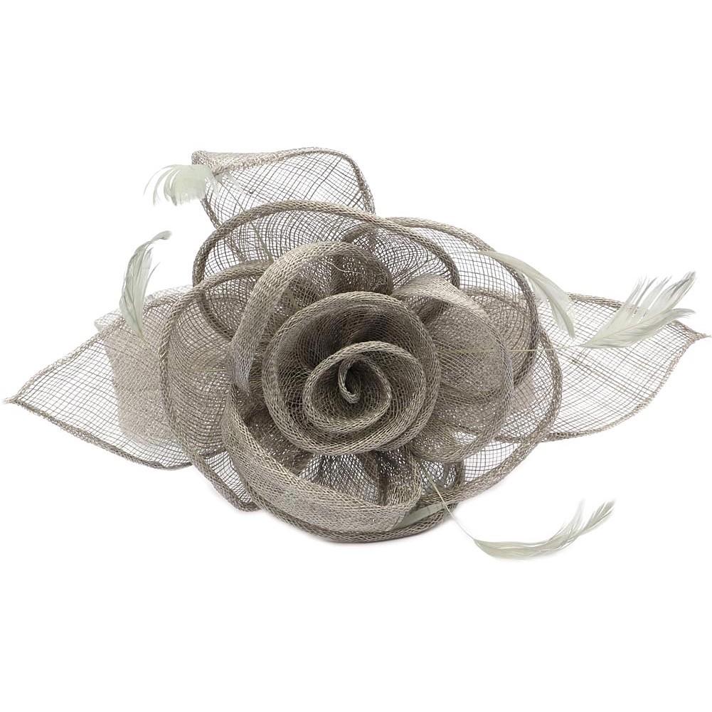 chapeau mariage gris serre tte - Serre Tete Chapeau Mariage