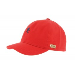 Casquette baseball Rouge Conquest Polo Herman Headwear