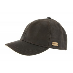 Casquette baseball Marron Conquest king Herman Headwear