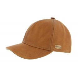 Casquette Baseball Cognac Conquest King Herman Headwear