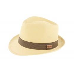 Chapeau paille Naturel Benson Herman Headwear