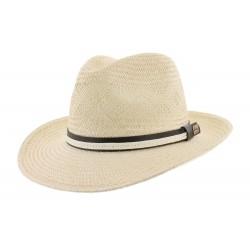 Chapeau paille Naturel et Beige Zory Herman Headwear