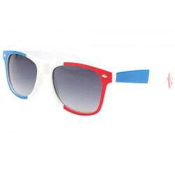 Lunettes de soleil France Bleu Blanc Rouge