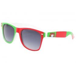 Lunettes de soleil Portugal verte et rouge