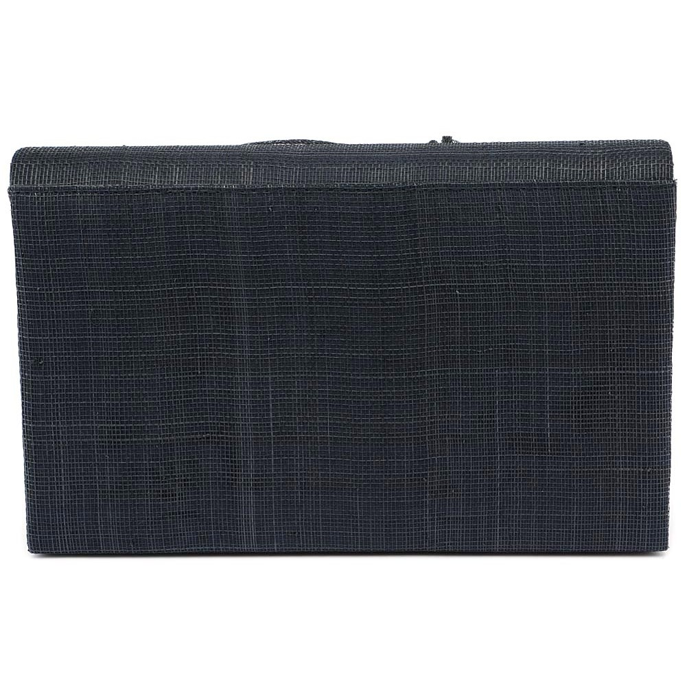 pochette mariage bleu marine en sisal alexa pochette. Black Bedroom Furniture Sets. Home Design Ideas