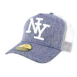 Casquette Baseball NY Bleu Hip Hop Honour