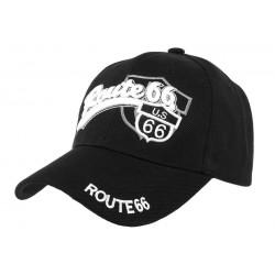 Casquette Baseball Noir Route 66