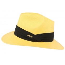 Chapeau de Paille Jaune Théo