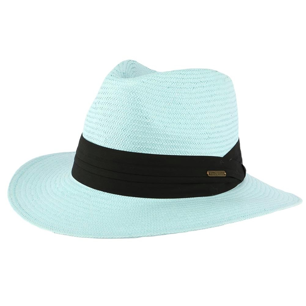 chapeau de paille bleu ciel th o style panama homme et femme livr 48h. Black Bedroom Furniture Sets. Home Design Ideas
