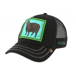 Casquette Trucker Goorin Bros BLACK SHEEP noir