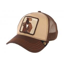 Casquette Baseball marron Lone Star par Goorin Bros