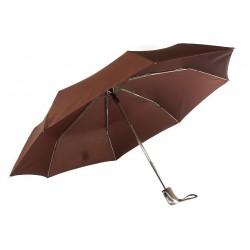 Parapluie Automatique Marron Poignée Antidérapante