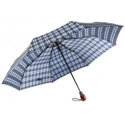 Parapluie Automatique Bleu et Beige Fantaisie