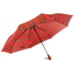 Parapluie Automatique Rouge et Noir Fantaisie