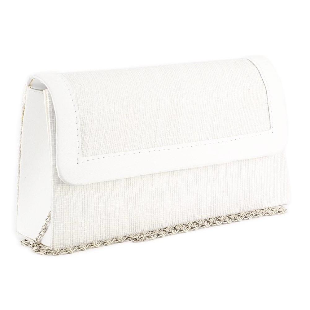 pochette mariage blanche joel - Pochette Mariage Ecru