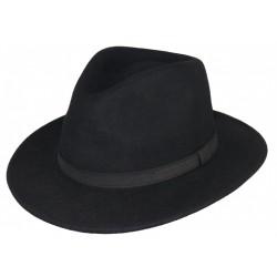 Chapeau Feutre Noir Maccio Herman