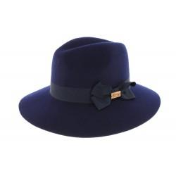 Chapeau Femme Bleu Marine Garbo